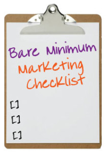 The Secret to Marketing Success: Embrace the Bare Minimum