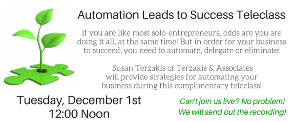 Automation Leads to Success Slide